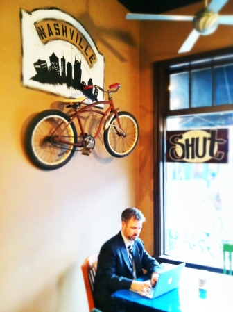 germantown's new red bicycle coffee & crepes