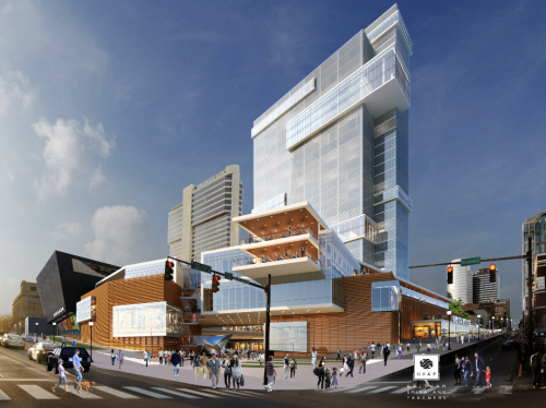 the possible future corner of broadway & fifth avenue north
