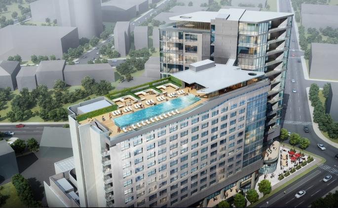 nashville's upcoming virgin hotel opens fall 2016