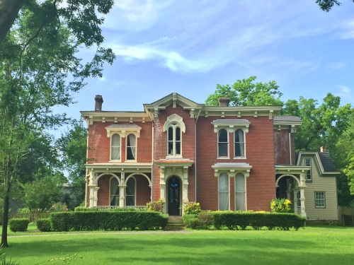 merritt mansion- the nashville civic design center  places the home as early as 1840. | 441 humphreys st