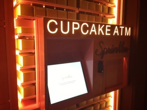 12south's newest ATM, dispensing only cupcakes. all day. every day.